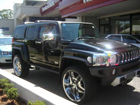 2009 Hummer H3 Luxury Wagon