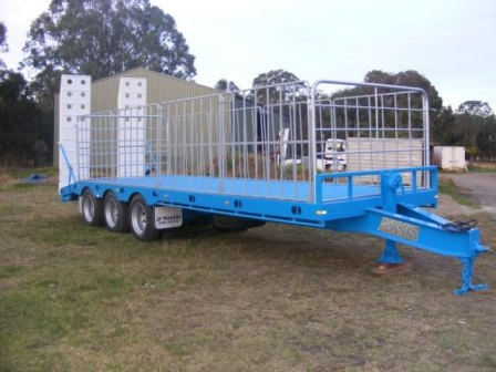 New 7.7 Metre Tri-Axle Trailer