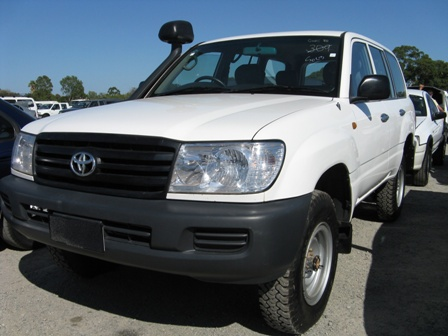 2006 Toyota Landcruiser 100 Series Wagon